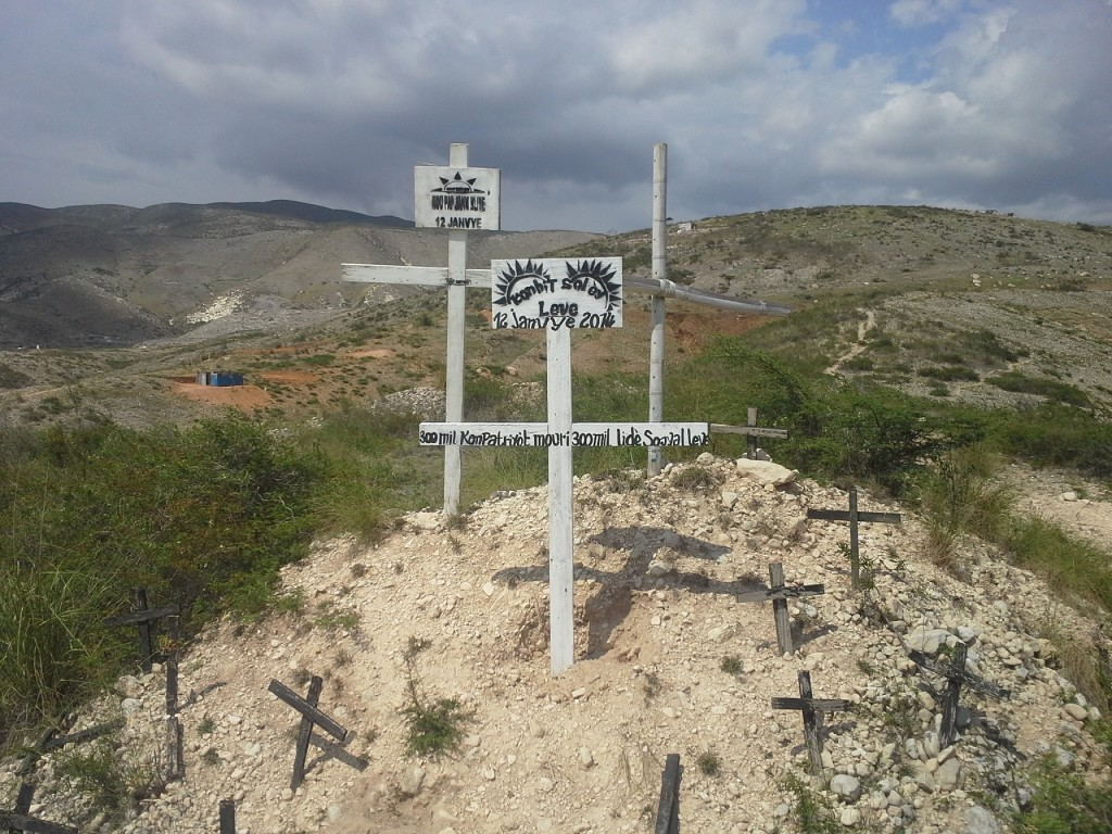 Titanyen, mass grave site where 50,000+ people that died in the 2010 earthquake are buried
